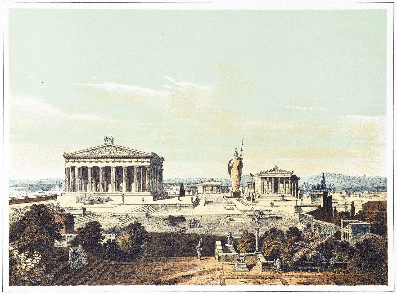 Akropolis, Athen, restauriert, Antike, Tempel, Architektur, Griechenland,