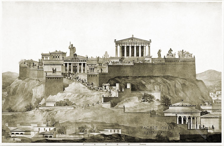 Akropolis, Architektur, Antike, Griechenland