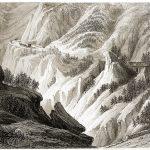Am Pass von Bramante auf dem Weg zum Mont Cenis im 19. Jh.