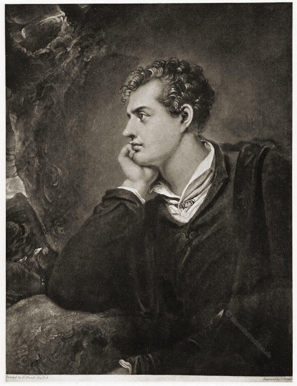 Lord Byron, Dichter, England, Romantik,