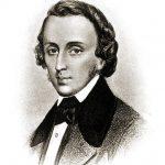 Frédéric François Chopin, polnischer Komponist und Pianist.
