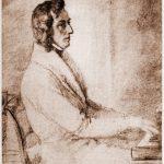 Frédéric Chopin und George Sand in Valdemossa auf Mallorca.