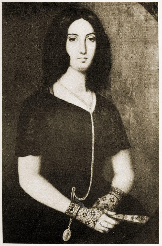 George Sand, Frankreich, Literatin, Schriftstellerin, Feministin,