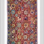 Persischer Ispahan Teppich des 17. Jhs. mit seltenem Vasenmuster.