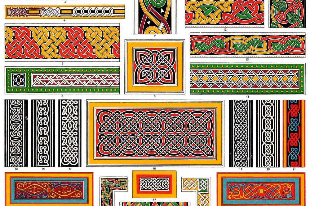 Kelten, Keltische Ornamente, Kelten, Buchillumination, illumination, Lindisfarne