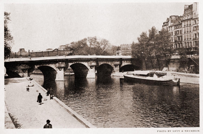 Pont Neuf, Paris, Brücke, Ansicht, Fotografie