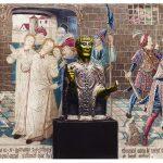 Das Haupt des Heiligen Baudime. Reliquiar des 12. Jhs.
