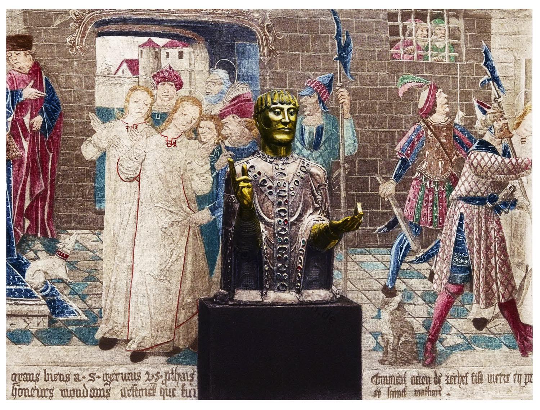 Reliquiar, Baudime, Reliquienbehälter, Mittelalter, Büste,