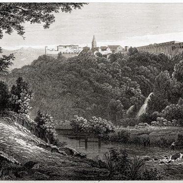 Tivoli , Tibur, Rom, Antike, Architektur, Landschaft, Villa, Quinctilius, Varus,