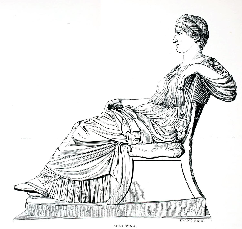 Agrippina, Jüngere, Rom, Kaiserin,
