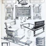 Möbel und Geräte der Antike. Römisches Reich.